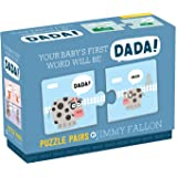 Galison and Mudpuppy Jimmy Fallon Your Baby's First Word Will Be Dada Puzzle Pairs - 1 Ea