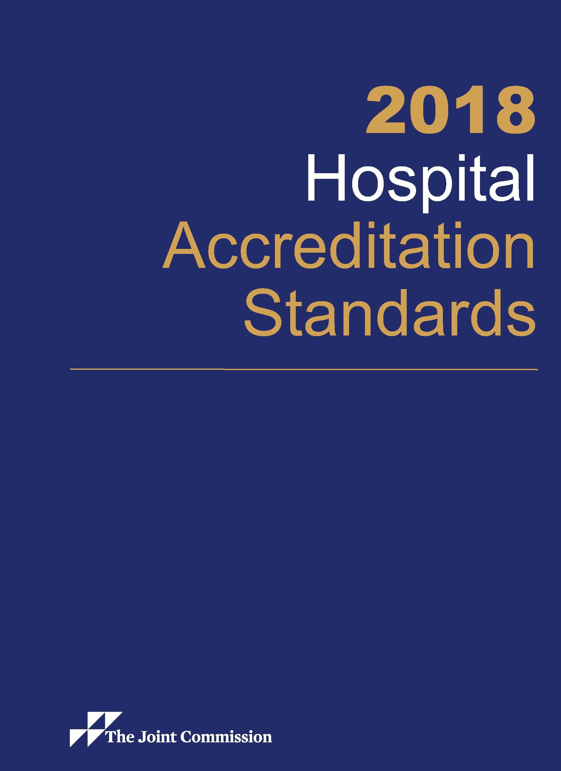 2018 Hospital Accreditation Standards