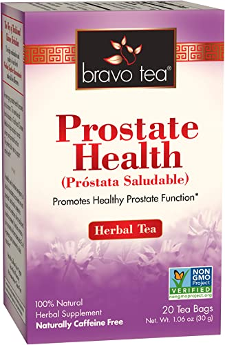 Bravo Tea, Prostate Health Herbal Tea, Caffeine Free, 20 Tea Bags