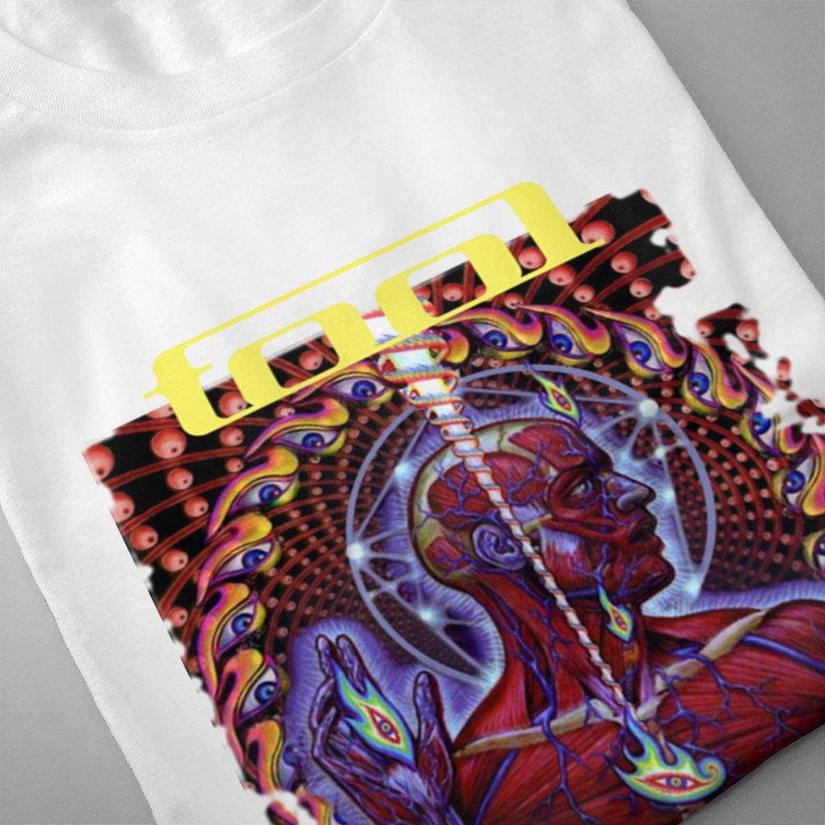 Smooffly Mens Tool Lateralus Classic Crew Neck Coton Short Sleeves T-Shirts