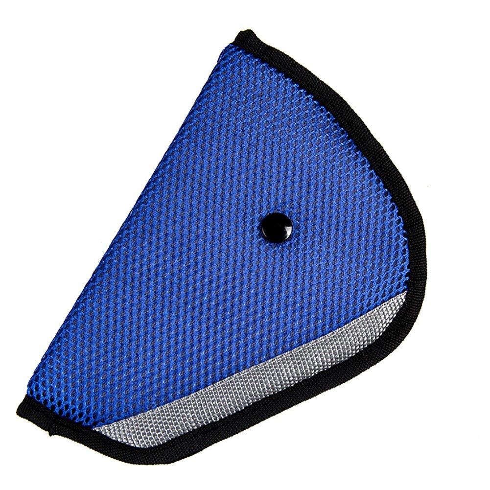 Kentop Seggiolino auto cinghia imbottitura a spalla cintura di sicurezza cuscino cuscino rimovibile sicurezza Fixer protezione, Beige, 22,5×12,5CM