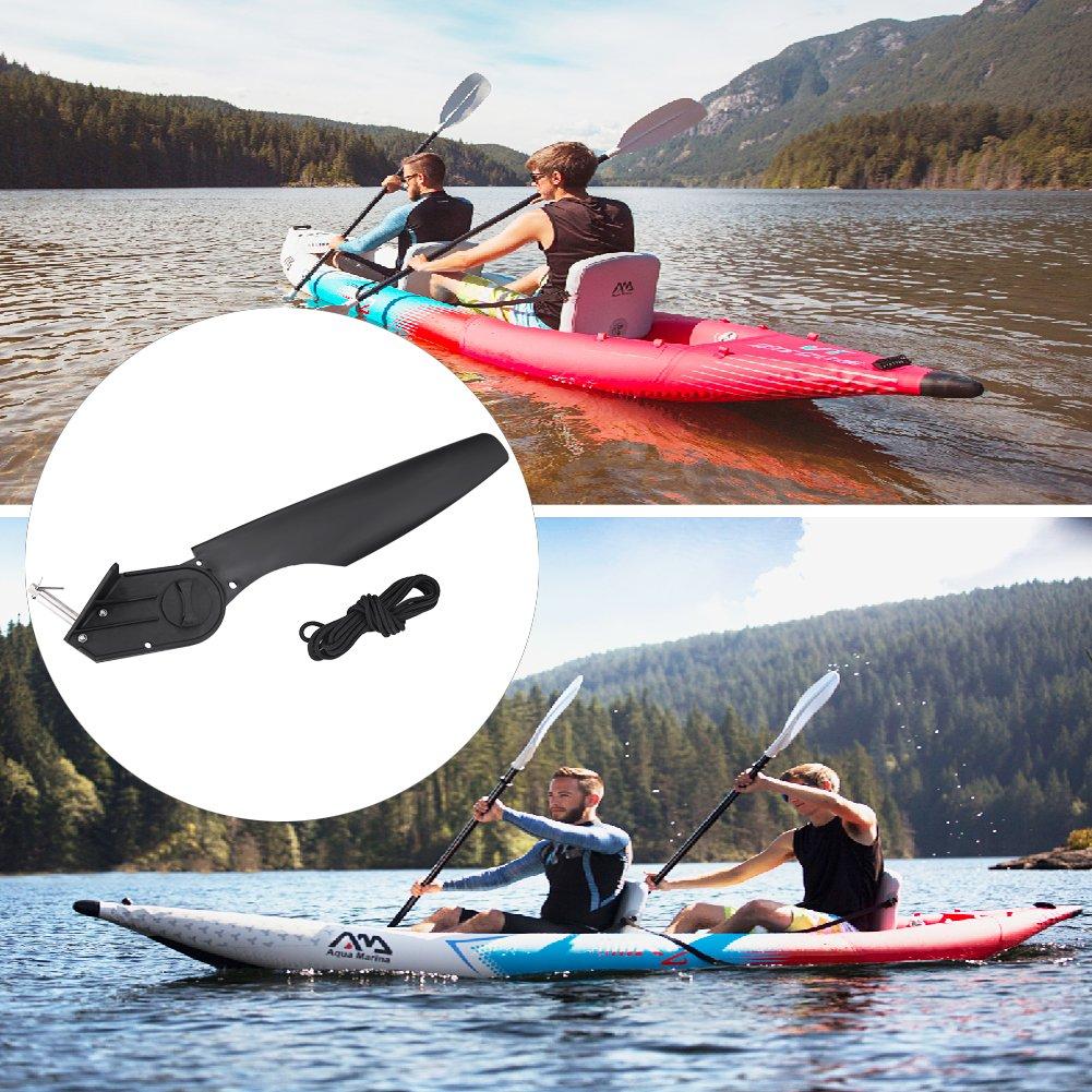 VGEBY Kayak Rudder Plastic Boat Tail Rudder Foot Direction Control Tackle for Watercraft Canoe Kayak Boat