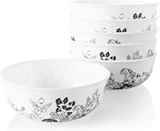 product image for Corelle Chip Resistant Soup and Cereal Bowls, 6-Piece, Uptown Garden