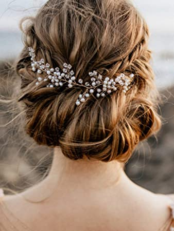 Amazon Com Anglacesmade Bridal Gold And Silver Rhinestone Headband