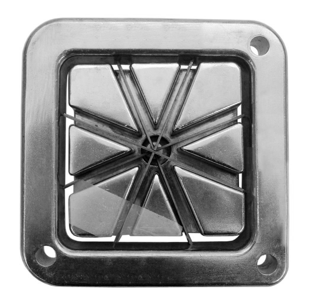 New Star 38408 Commercial Grade French Fry Cutter, Complete Combo Sets by New Star Foodservice