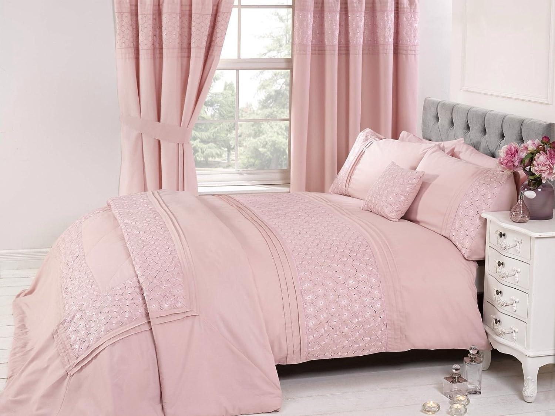 duvet single cover bedding gold wish a star set itm stars pink girls upon