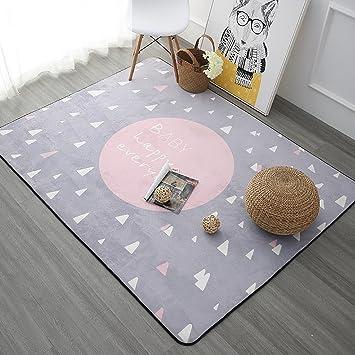 Amazon.de: SESO UK- Nordic Modern weichen Teppich für Kinder ...