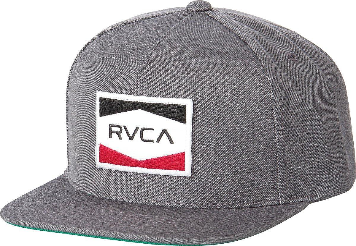 RVCA - Gorra de béisbol - para hombre gris gris Talla única ...