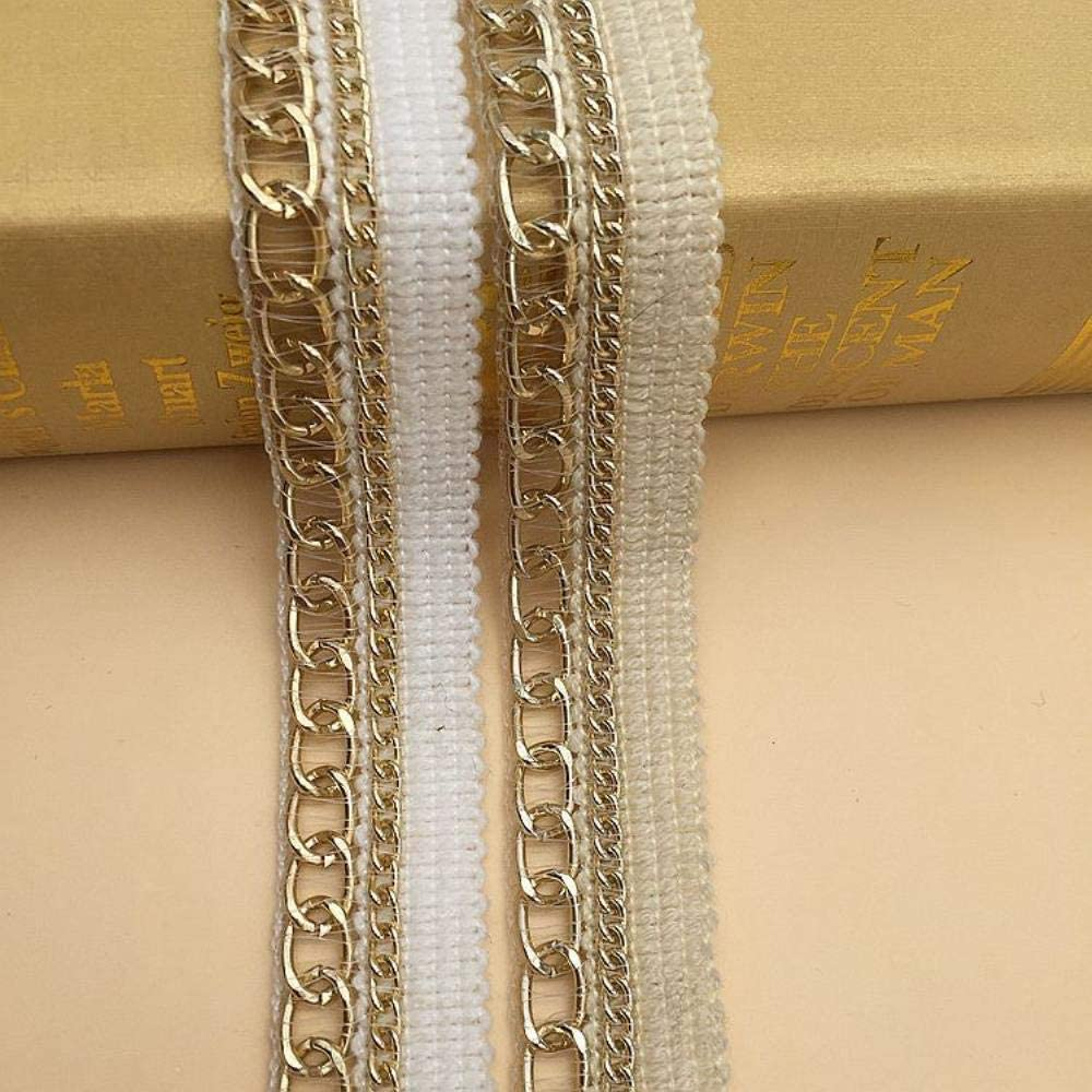 Luxury Tulle Golden Mesh Embroidery Lace Fabric Ribbon Trims Edge Guipure Applique Decorated DIY Sewing Wedding Dresses Decor
