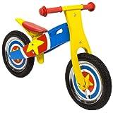 Charles Bentley Wooden Balance Training Balance Bike Age 3+ - Star Design