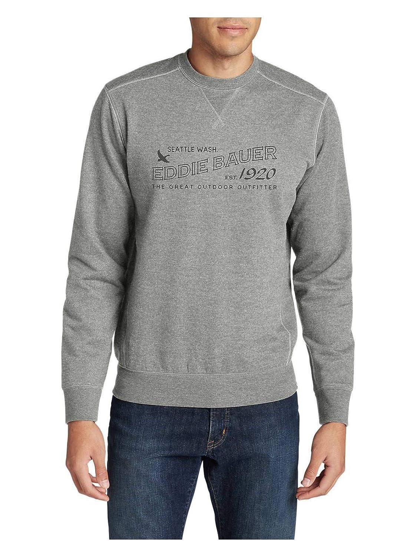 Eddie Bauer Men's Camp Fleece Crewneck Sweatshirt - Graphic 13302281