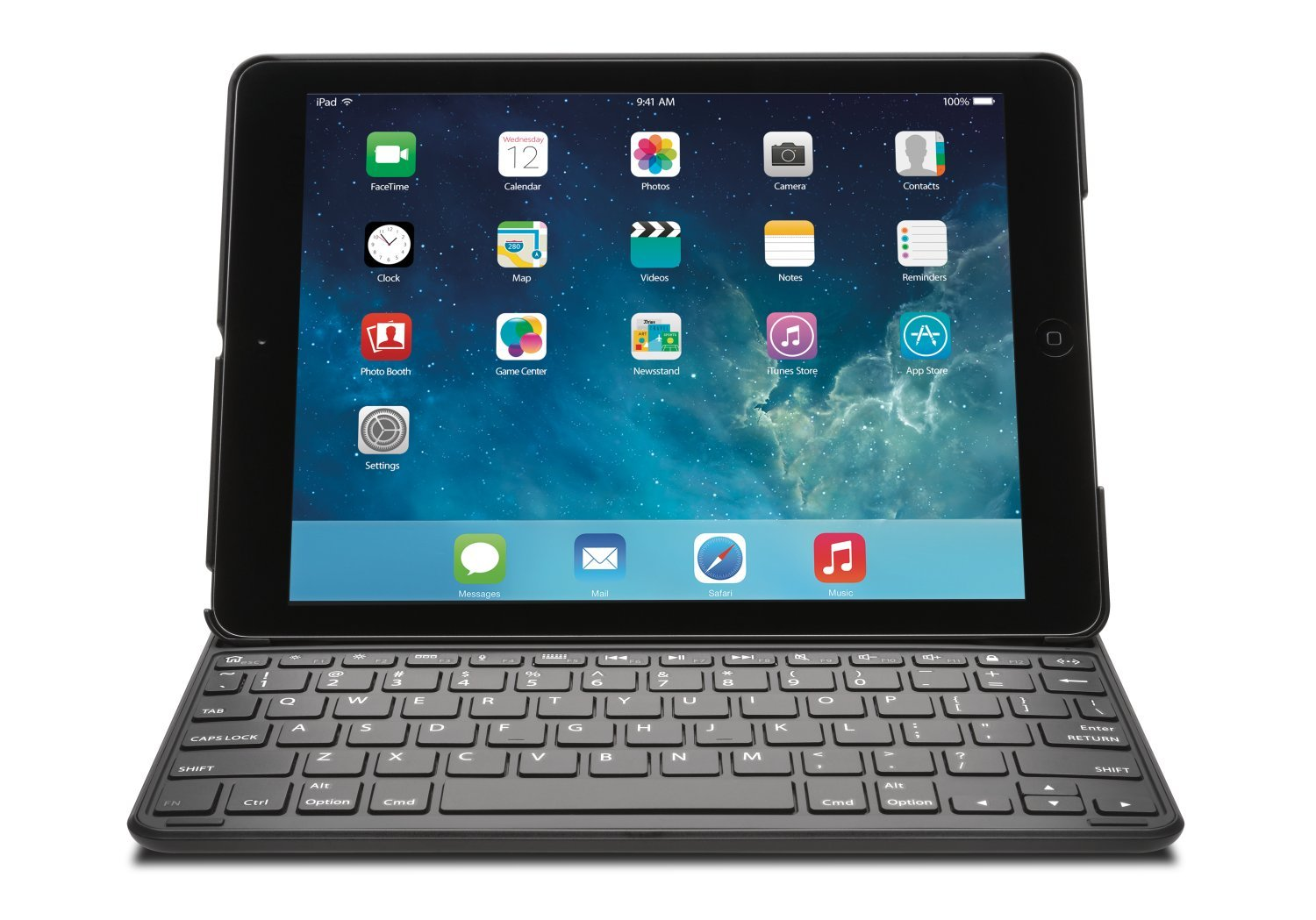 Kensington KeyFolio Thin X2 iPad Air 2 Bluetooth Keyboard Case (K97385US) by Kensington (Image #3)