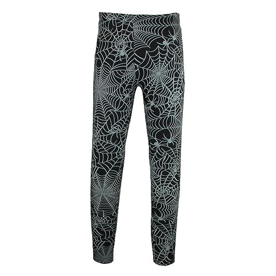 3843d27f240 Just One Women s Halloween Spider Web Print Leggings
