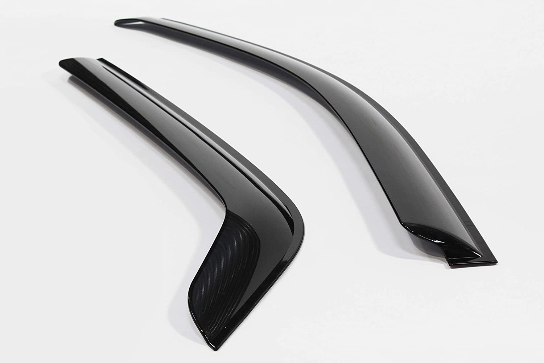 4 pieces Autoclover Wind Deflectors Set for Kia Sportage 2005-2010