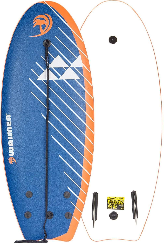 Waimea Tabla de Surf Espuma EPS 114 cm Azul Petr/óleo 52WZ-BLO-Uni Deporte Mar