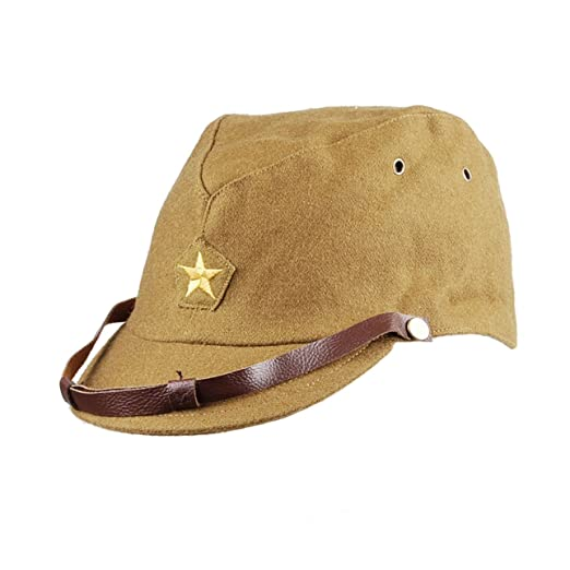 2e3e747b949 Image Unavailable. Image not available for. Color  Heerpoint Reproduction WWII  WW2 Japanese army IJA Officer Field Hat ...