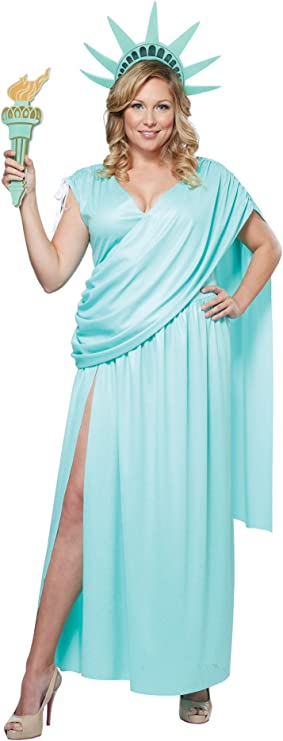 California Costumes Womens Lady Liberty Adult