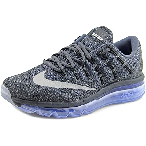 outlet store af6d3 595d4 Nike Womens Air Max 2016 Grey Chalk Blue Running Shoes - 4 UKIndia (