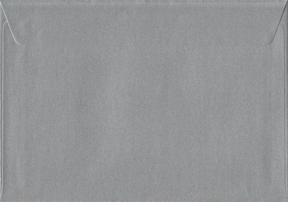 Premier Briefumschläge Silber Metallic Metallic Metallic C5 162 mm x 229 mm, 100 gsm schälen und Seal Umschlag (100 Stück) B005IW8EOE   Feinen Qualität  becef1