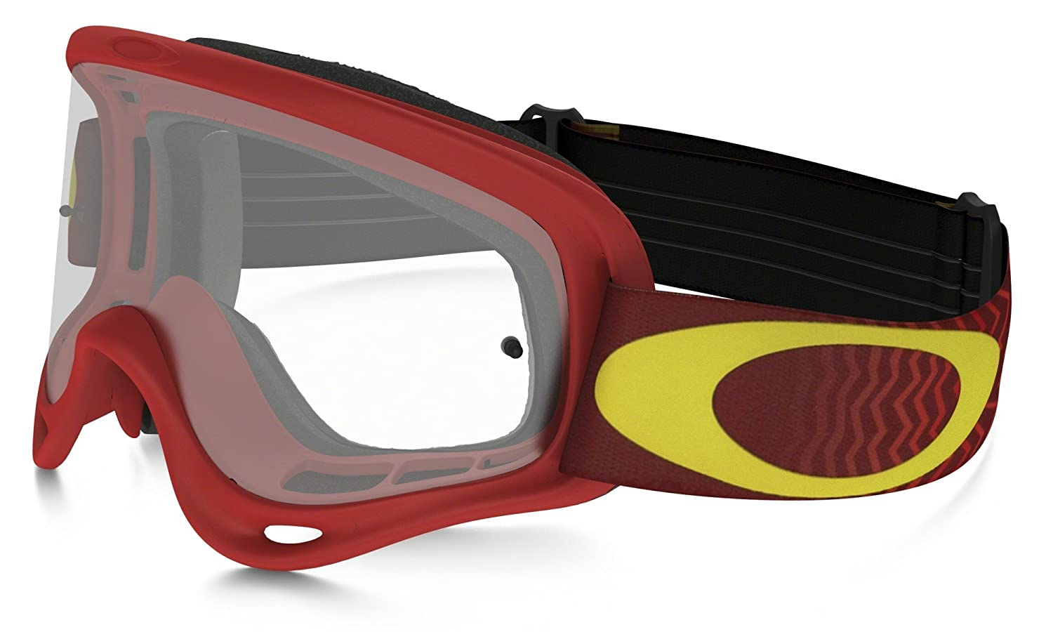 com oakley xs o frame graphic frame mx goggles true com oakley xs o frame graphic frame mx goggles true carbon fiber frame clear lens one size automotive