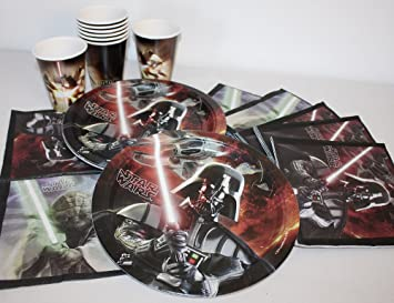 Kit Décoration Anniversaire Star Wars Avec Bougies Amazonfr