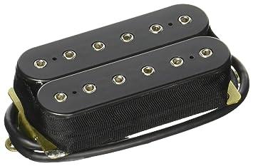DiMarzio DP220FBK - Pastilla para guitarra eléctrica, color negro