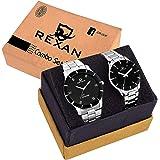 Jiya Creation New Fancy Watch with Black Professiona Look Dial Rexan_Wrist_Watch_442-446