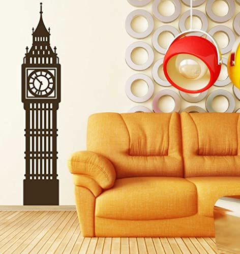 Amazon.com: Big Ben Wall Decal - Historic London Clock Tower Vinyl ...