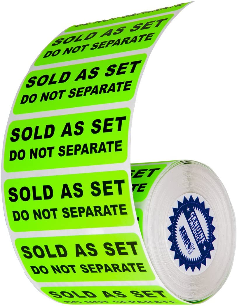 1 inch x 2 Inch 1000 per Roll Non-Conforming Do Not Use Labels