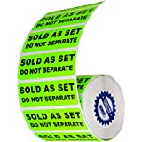 """Sold as a Set Do Not Separate Labels Stickers by Kenco 3"""" X 1"""" Fluorescent Green FBA Labels Shipping Labels (1 PACK (500))"""