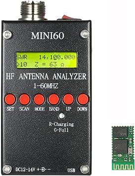 kkmoon 1 – 60 MHz mini60 Antenna Analyzer con Bluetooth ...