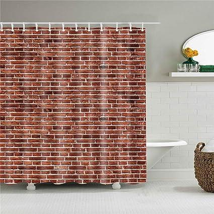 Amazon Com Bartori Decorative Shower Curtain No Liner Necessary And