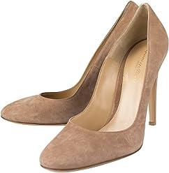fcb81b1d571 GIANVITO ROSSI Brown Suede Stiletto Heels Shoes Size 11 US 41 EU