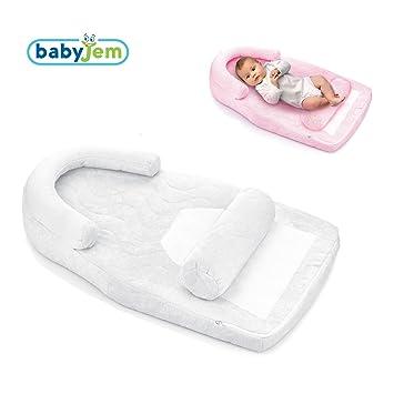 babyjem Baby almacenar Cojín cuna para capazo 100% algodón ...
