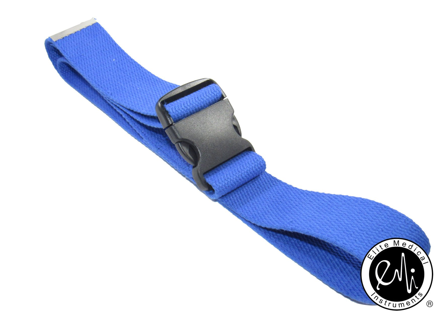 EMI 60'' Gait Transfer Belt ROYAL with Plastic Buckle 100% Cotton 624-P-Roy