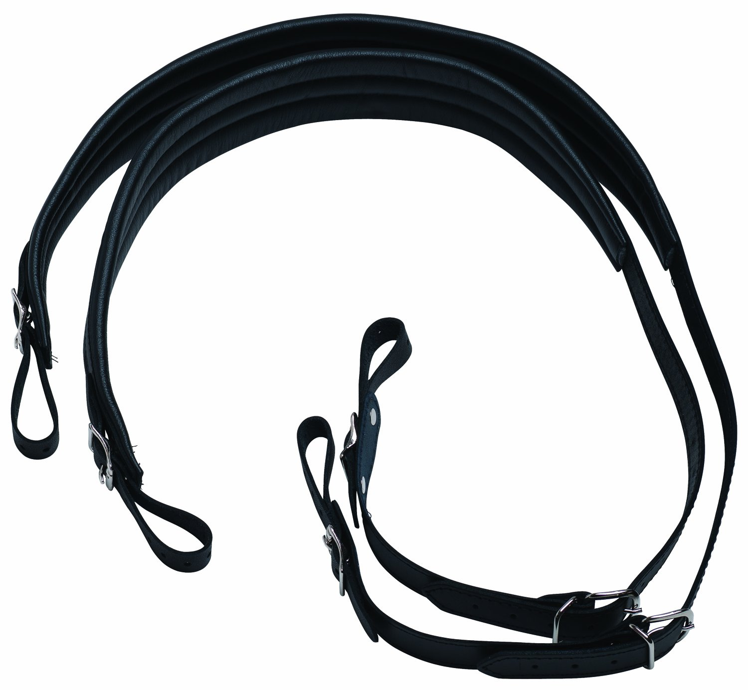 Belmonte Accordion Padded Strap Black