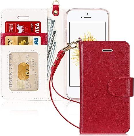 custodia portafoglio iphone 5s
