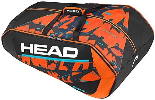 Head Radical 12R Monstercombi Bolsa de Tenis, Unisex Adulto, Negro/Naranja, Talla Única: Amazon.es: Deportes y aire libre