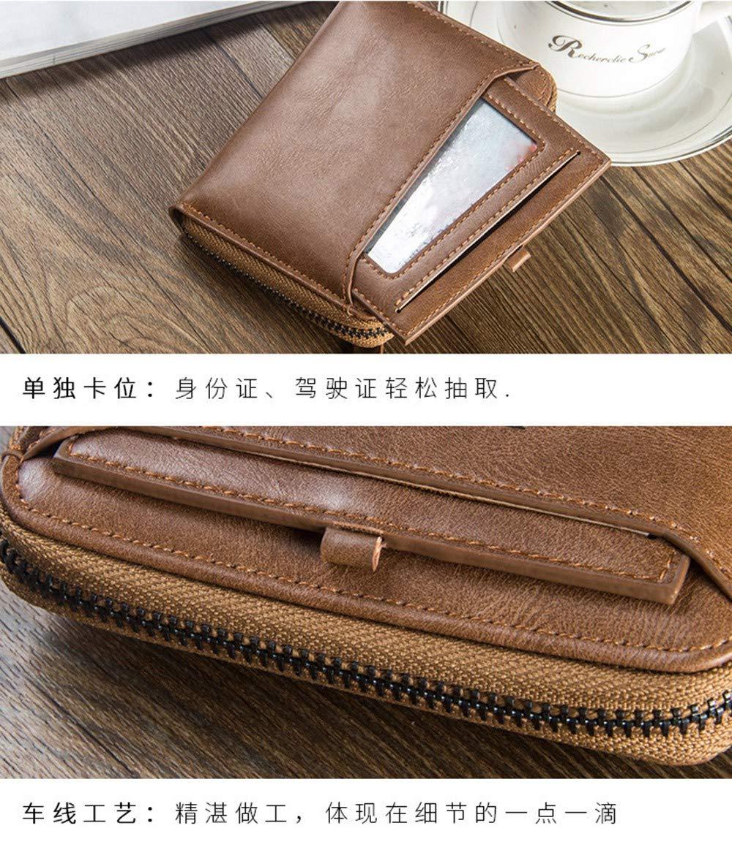 12 Schwarz LMSHM Brieftasche Brieftasche Männer Brieftaschen