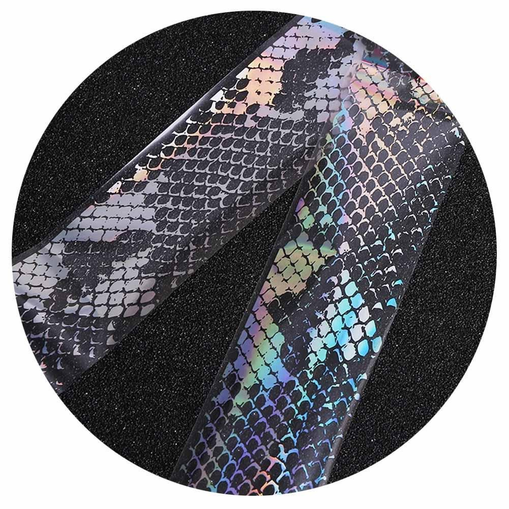 Gracefulvara Foil Holo Starry Lace Manicure Nail Art Transfer Sticker