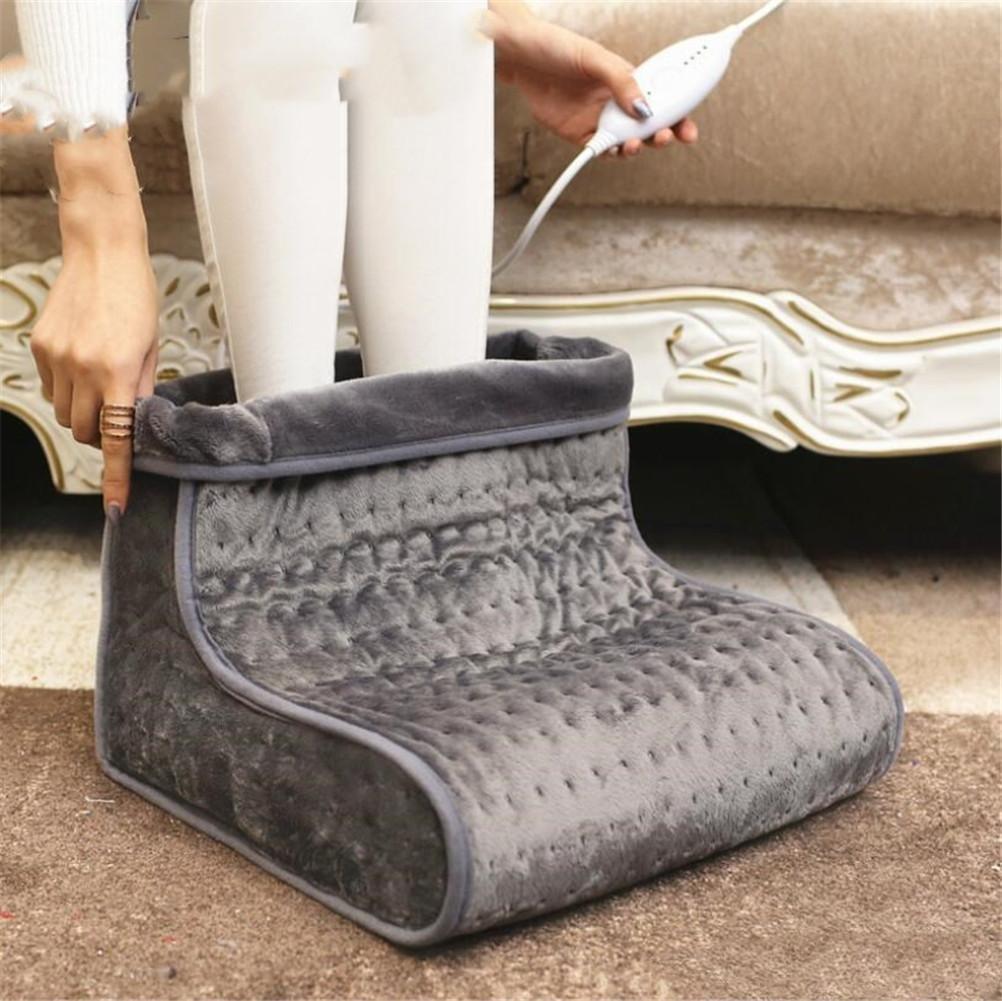 FFJTS Energiesparende gemütliche Stiefel Luxus beheizbare Stiefel , A