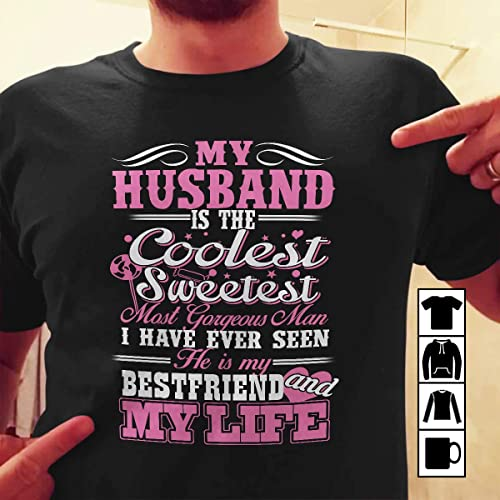 Amazoncom T Shirt Family My Husband He Is My Best Friend And My