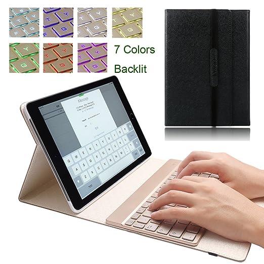 "14 opinioni per KVAGO custodia per iPad Air 2 A1566e A1567, 24,6cm (9.7""), sottile tastiera"
