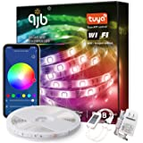 QJB LED Strip Lights 32.8ft, Smart WiFi RGB Tape Light, with Alexa Google Assistant, App Control, Music Sync Color…