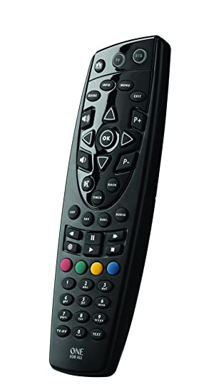 One For All Urc1666 Remote Control For Tvscablesatellite Boxes