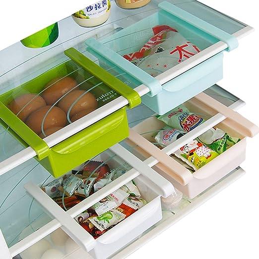 Estante multifunción para nevera o congelador de cocina ...