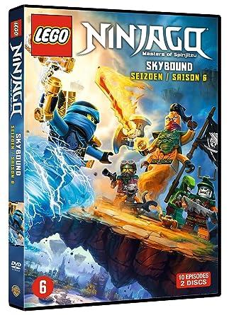 Ninjago: Masters of Spinjitzu - Season 6 DVD 2016: Amazon.co.uk ...