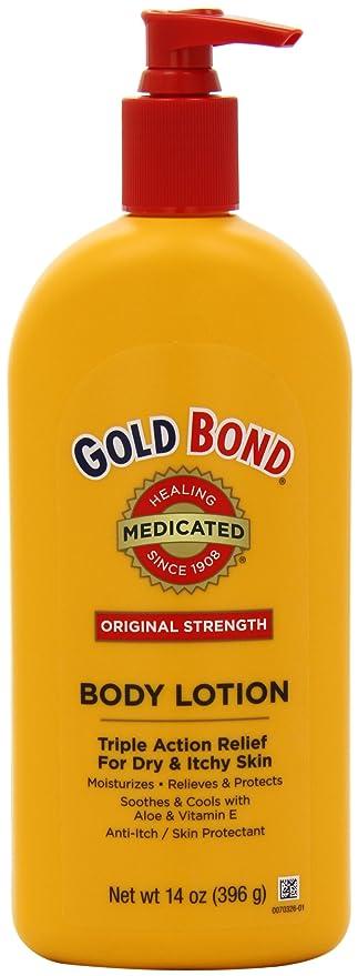 Oro Bond bodylotion Original Strength, 396 g dispensador koerper Loción para troeckene picores piel