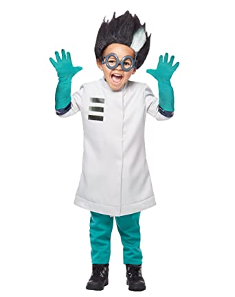 Pj Masks Halloween Costume.Amazon Com Spirit Halloween Toddler Romeo Costume Pj Masks Grey