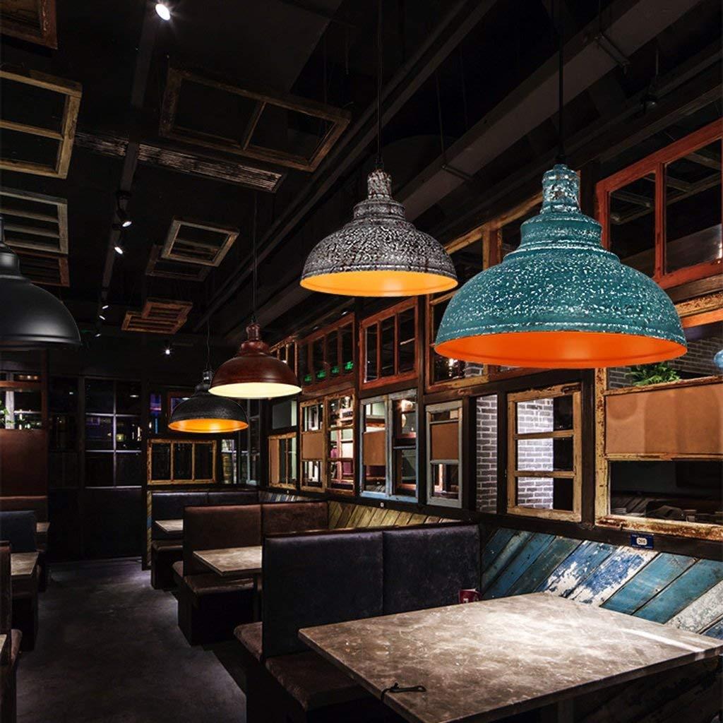 AXCJ Kronleuchter Moderne Retro Restaurant Kronleuchter Nordic Kreative Einfache Persönlichkeit Restaurant Bar Beleuchtung, Balkon Kanal Eisen Kronleuchter
